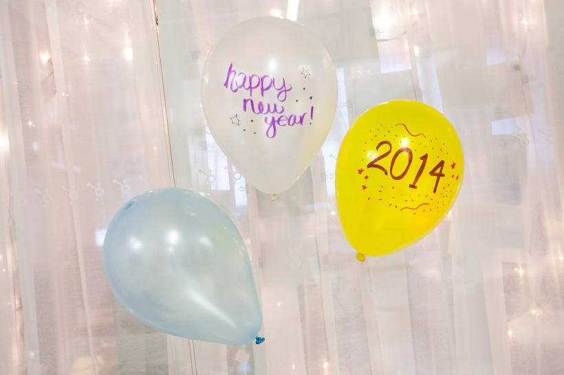 2014 New Year's Balloons