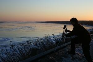 Photographer_at_sunset