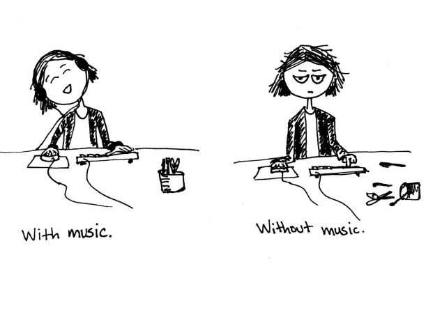 music comic