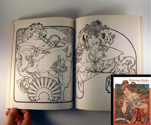 advanced coloring book