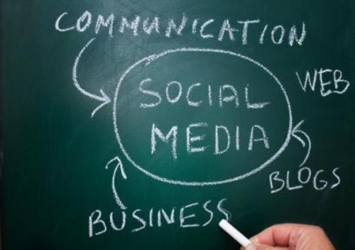communication social media business